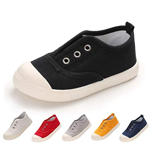 78d36aee4586c BENHERO Toddler Kids Boys Girls Candy Color Canvas Slip-On Shoes | Casual  Sneaker Loafer Running Tennis Shoes | Fashion and Lightweight
