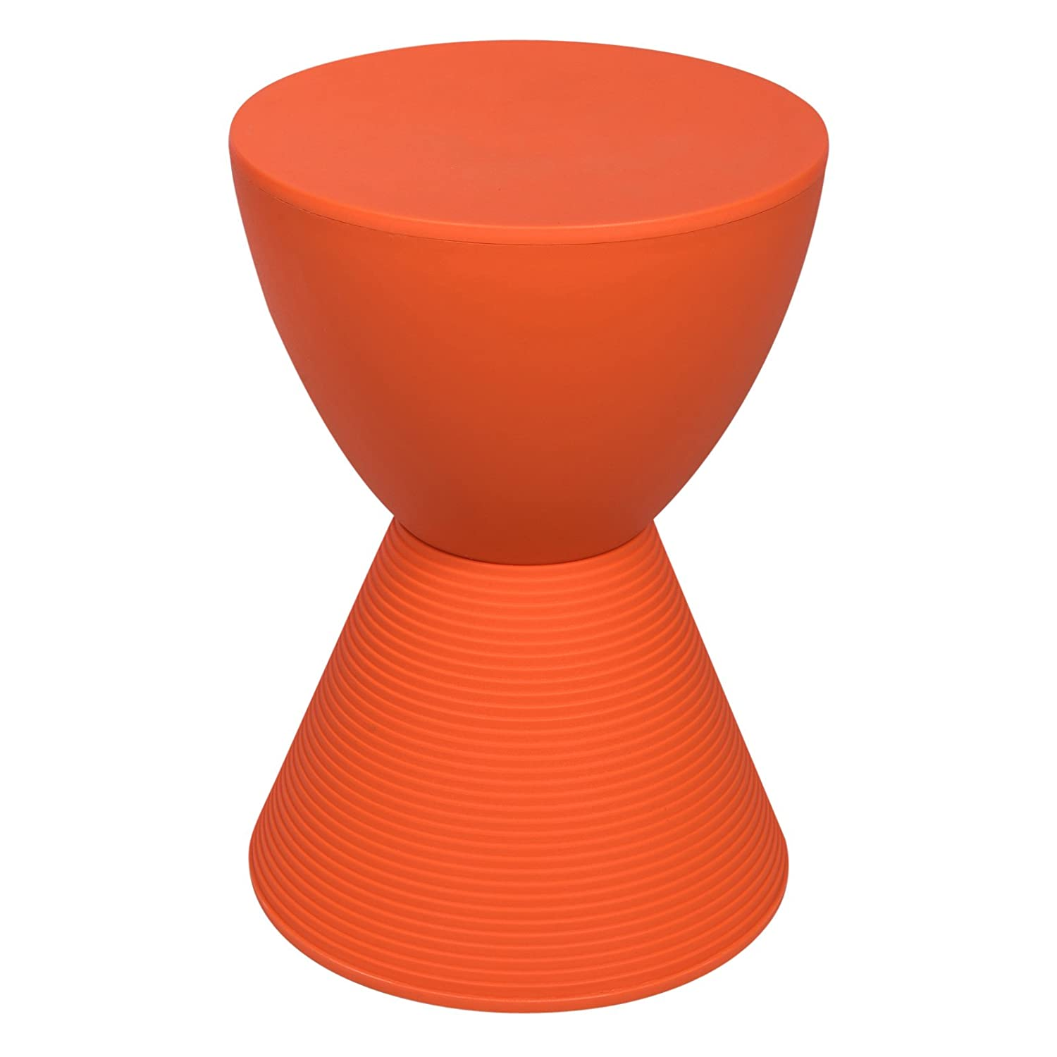 Amazon.com: LeisureMod Modern Boyd Side Table Indoor And Outdoor Use (Orange):  Kitchen U0026 Dining