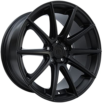Amazon Com 19 Up100 Staggered Wheels Set Fits Bmw In Matte Black