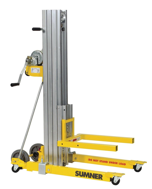 B00826NA92 Sumner Manufacturing 784751 2416 Contractor Lift, 16' Height, 450 lb. Capacity 61eQEWPsxQL._SL1500_