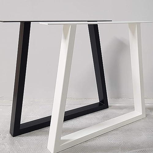 2x Patas para mesa de hierro, a medida, trapecio, hogar ...