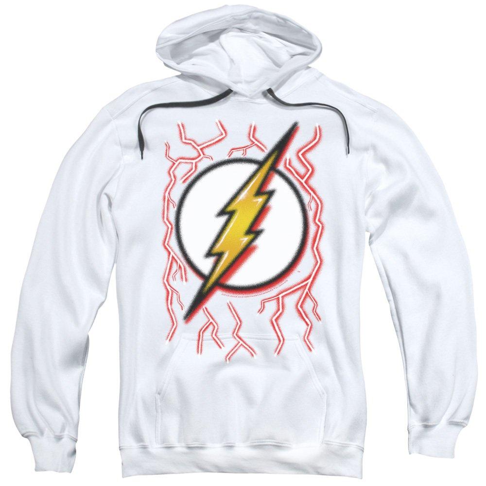 Dc Flash - - Männer Airbrush Bolt Hoodie