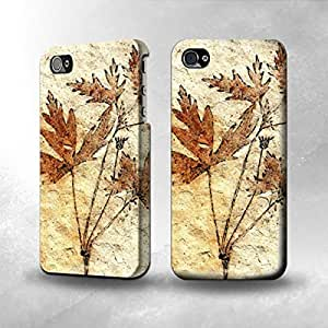 aqiloe diy Apple iPhone 4 / 4S Case - The Best 3D Full Wrap iPhone Case - Plant Fossil 5
