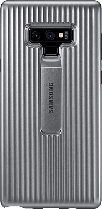 the latest a6c5c 32b0c Samsung Original Protective Standing Cover Case for Galaxy Note 9 - Silver