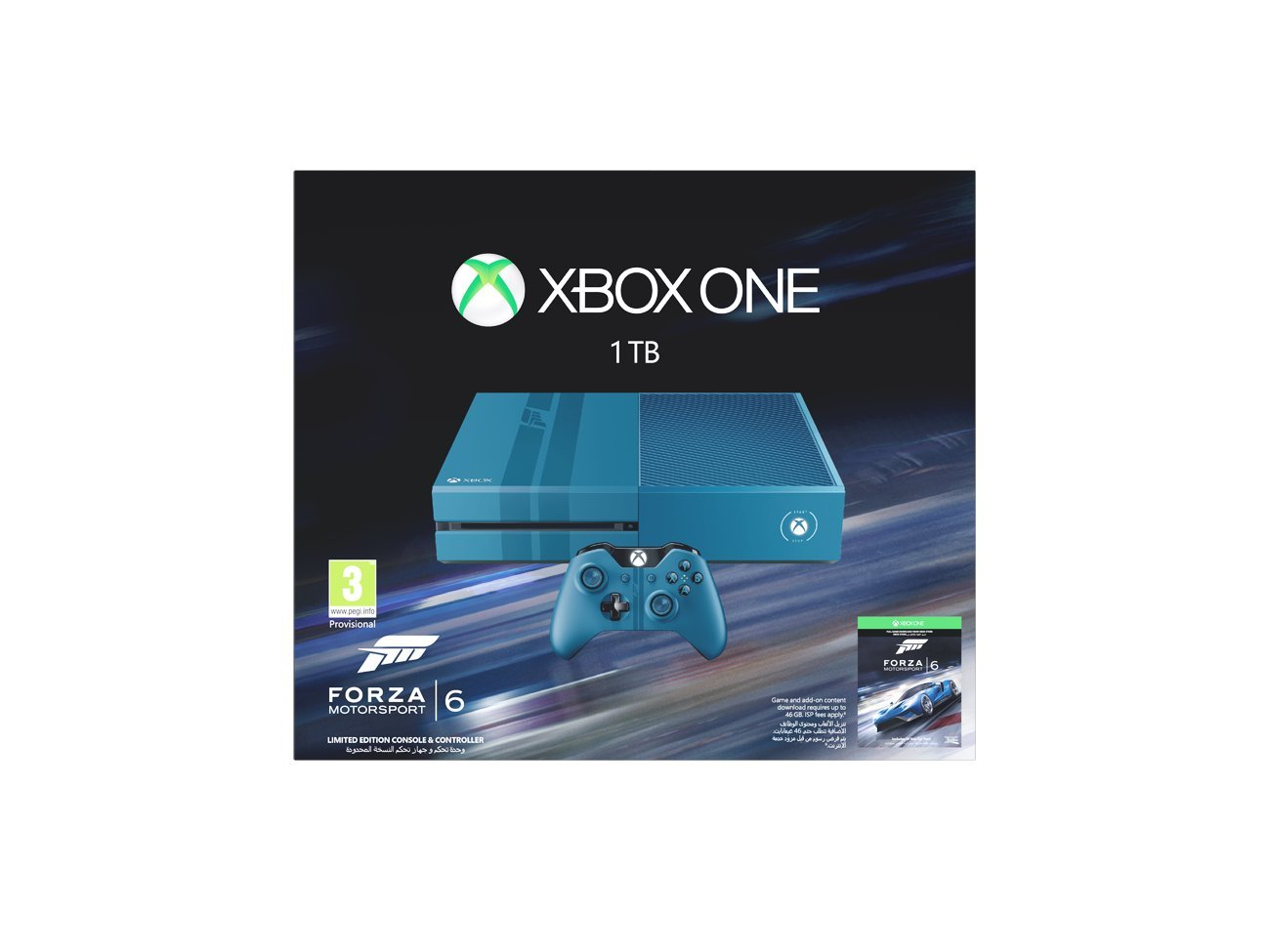 a8b3d54774b Xbox One Limited Edition 1TB Forza Motorsport 6 Bundle: Amazon.co.uk: PC &  Video Games