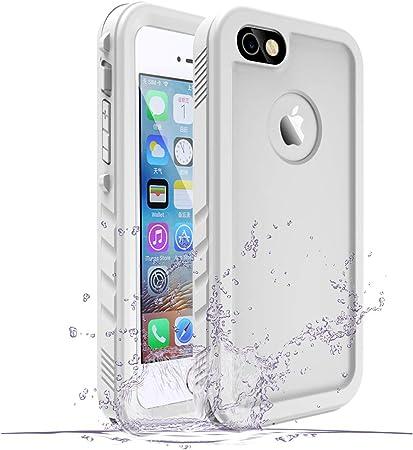 SPORTLINK Custodia Impermeabile per iPhone SE 2016, IP68 Certificato iPhone 5 / iPhone 5s Waterproof Cover Slim Subacquea Caso Case, Non Compatibile ...