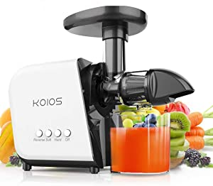 KOIOS Juicer, slow Juicer Extractor with reverse function