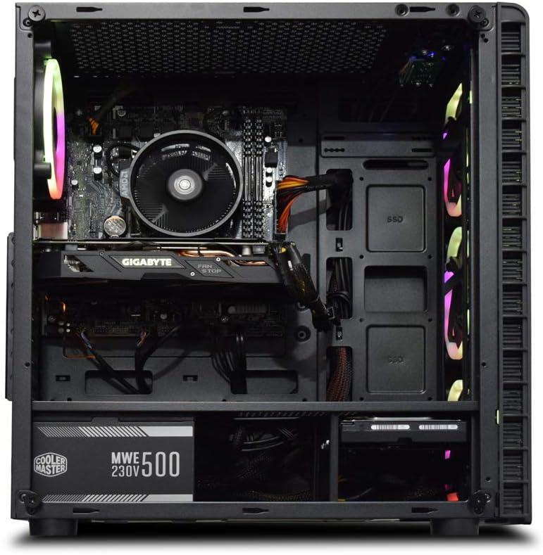 ADMi GAMING PC (Intel Pentium G4560 3.5Ghz CPU Dual Core, NVIDIA ...