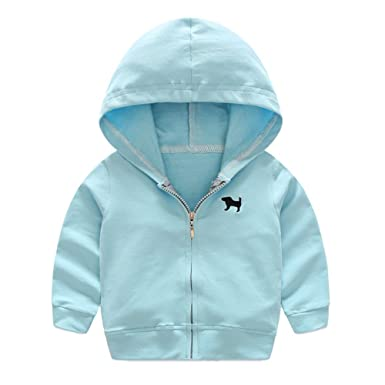 7963944a4 Brightup Children s Cardigan Sports Jacket Kids Hooded Jacket