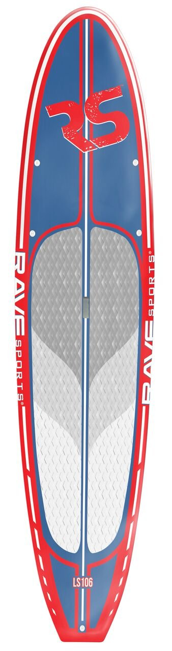 RAVE 2734 Cruiser SUP - Red, 10' 6'' by Rave (Image #1)