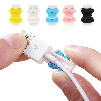 VANKER 1pcs Protector del Cable del Cargador USB de Mariposa para Iphone Ipad Charger Cord,4mm