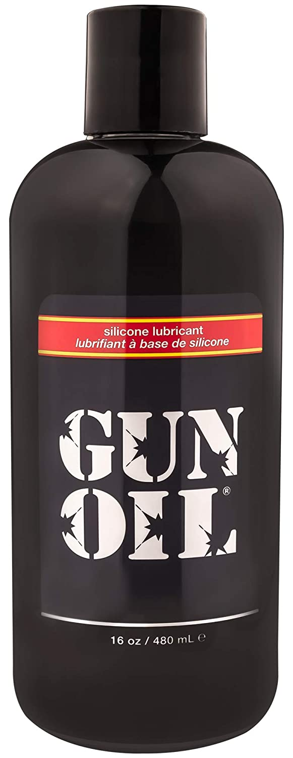 GUN OIL Silicone Lubricant - Hypoallergenic Silicone-Based Lubricant for Long-Lasting Lubrication (16 oz)