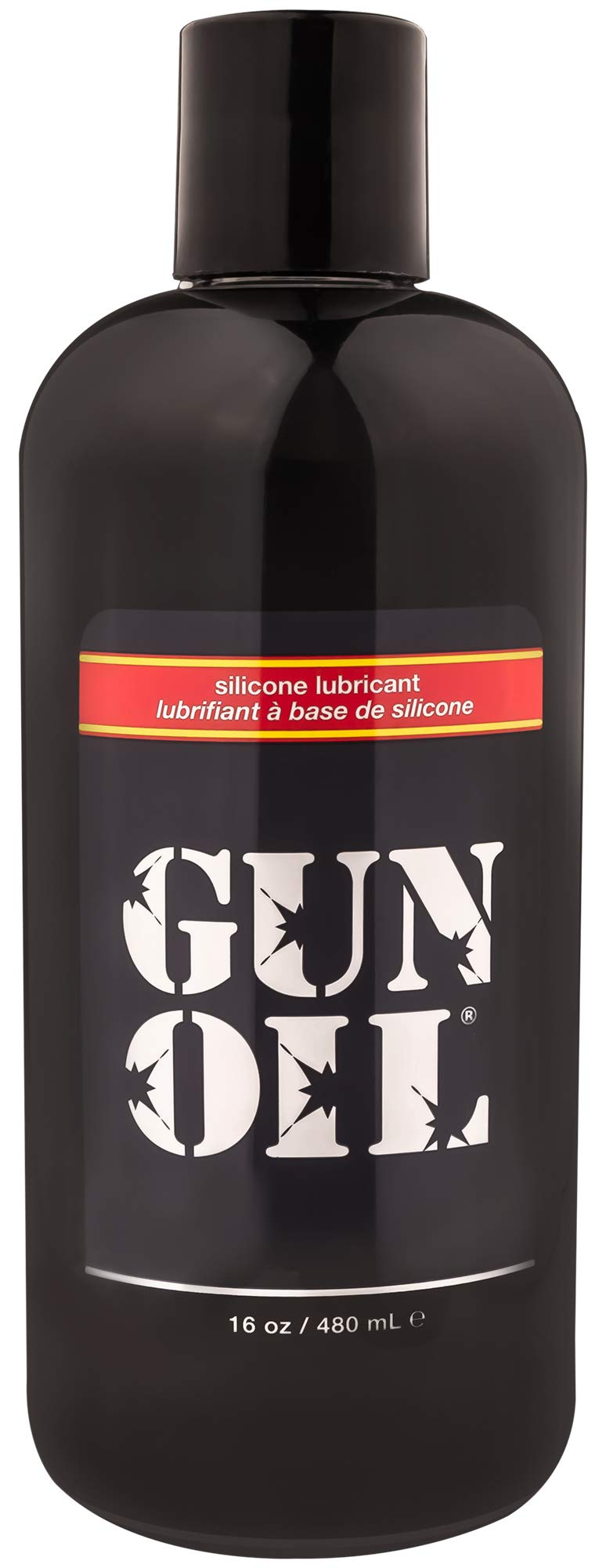 GUN OIL Silicone Lubricant - Hypoallergenic Silicone-Based Lubricant for Long-Lasting Lubrication (16 oz) by Gun Oil