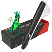 TECBOSS 3D Pen, Upgraded M1 3D Printing Pen for Kids, 3D Printer Pen Compatible with PLA Filament, Lightest User-Friendly Design