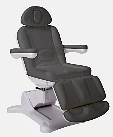 Phenomenal Medi Spa Facial Bed Chair W Rotation All Electric Gray Bralicious Painted Fabric Chair Ideas Braliciousco
