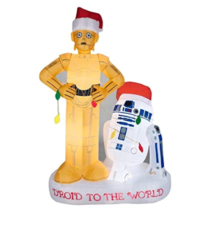 star wars christmas inflatable r2 d2 and c3po