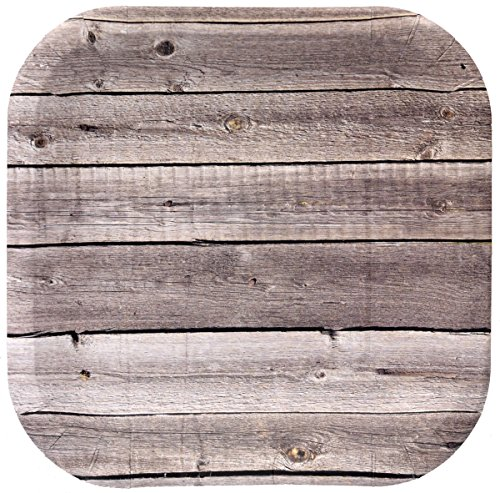Barnwood Paper Plate (9
