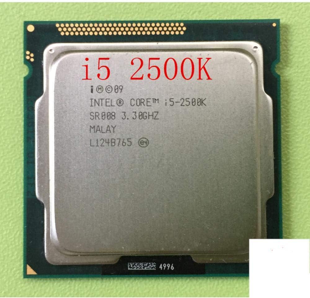 Original I5 2500K Processor Quad-Core 3.3GHz LGA 1155 TDP:95W 6MB Cache with HD Graphics I5-2500k Desktop CPU