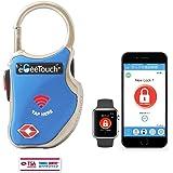 eGeeTouchスマートトラベルロック(TSA南京錠)持ち物のセキュリティー性を高め、持ち物を追跡し盗難や置忘れに役立つスマート機能搭載