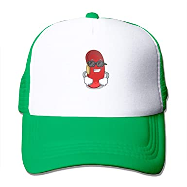 Trucker Red Bean In The Cartoon Bowl - Gorra de béisbol de algodón ...