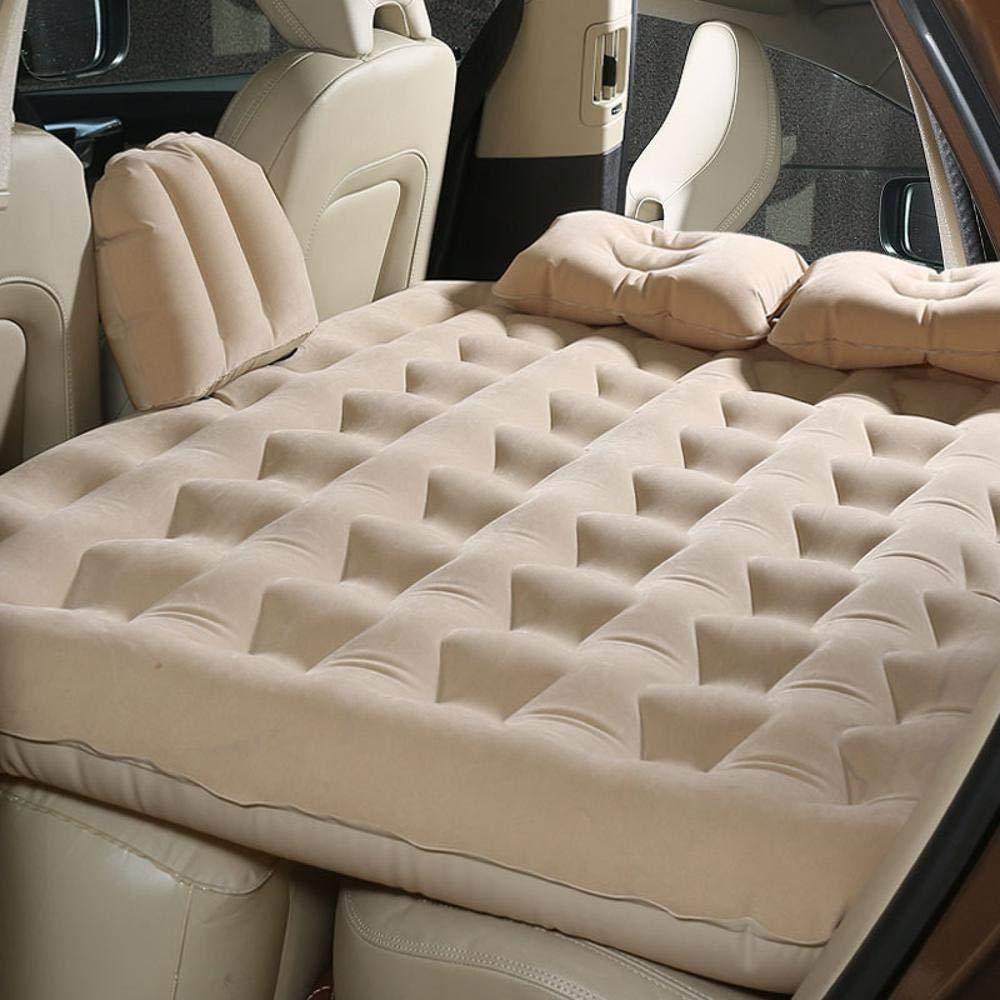DuDuDu Aufblasbares Bett Auto Fahrzeug, Reisebett schlafen Mat Matratze Limousine hinten Hoverboard Erwachsenen Isomatte