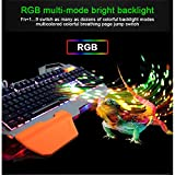NORMIA RITA Cool RGB Backlit Gaming Keyboard USB