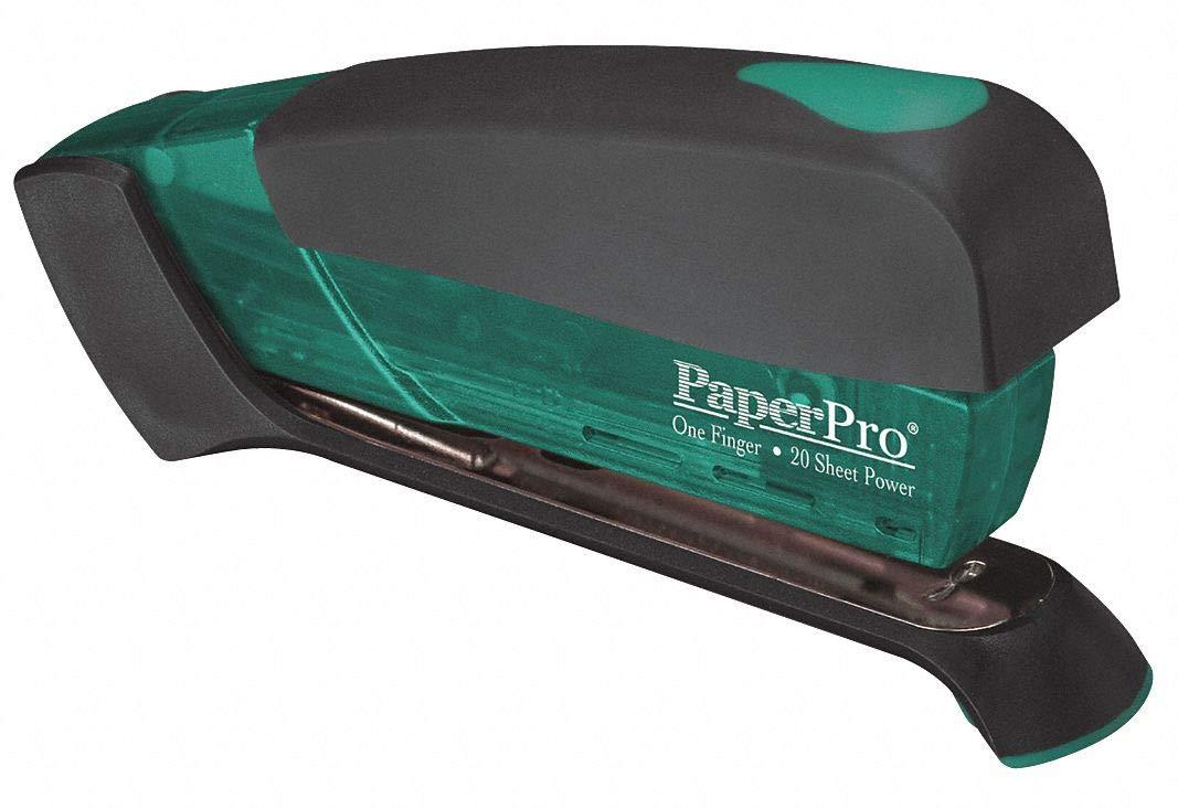 PAPERPRO Desktop Stapler, 20 Sheet, Green