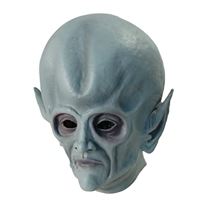Bristol Novelty BM316 Alien Full Mask (One Size): Toys & Games