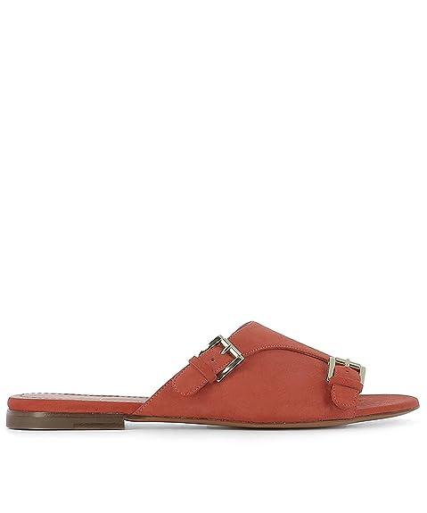 51cab7c2a3f Santoni Women's Whbf56533ha1rmgdr56 Red Suede Sandals: Amazon.ca: Shoes &  Handbags