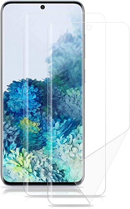 ROVLAK Protector Pantalla para Samsung Galaxy S20 Hidrogel Protector Cobertura Completa Film Flexible Soft HD Antihuella Alta Sensibilidad Screen Protector para Samsung Galaxy S20 [2-Pack]: Amazon.es: Electrónica