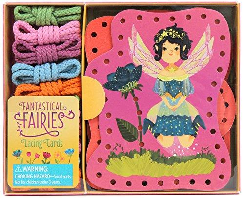 Fantastical Fairies Lacing Cards