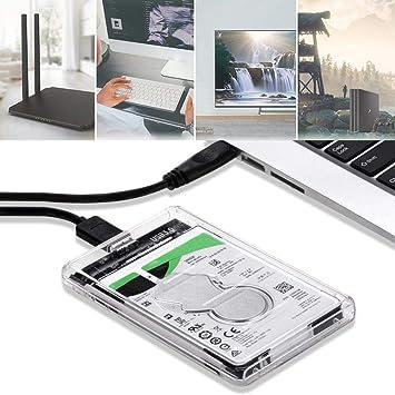 Ture-Ying SATA 3 A USB USB 3.0 Caja Externa 2.5 Pulgadas Disco ...