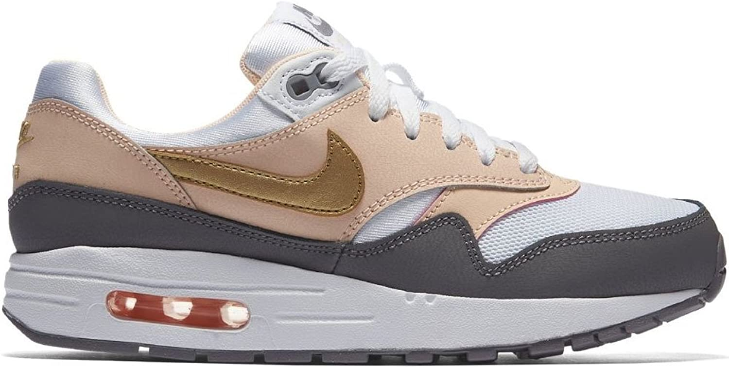 Air Max 1 GS Running Trainers 807605 Sneakers Shoes