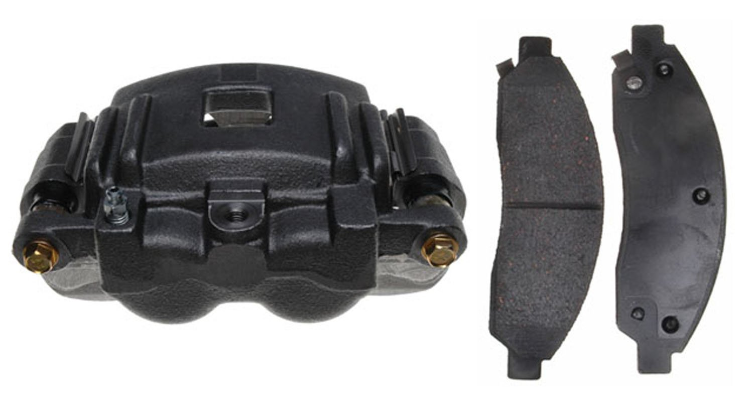Remanufactured ACDelco 18R2268 Professional Front Passenger Side Disc Brake Caliper Assembly with Pads Loaded