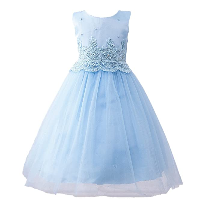 779c101a4 Outaking - Vestido - para niña azul 2-3 Años  Amazon.es  Ropa y accesorios