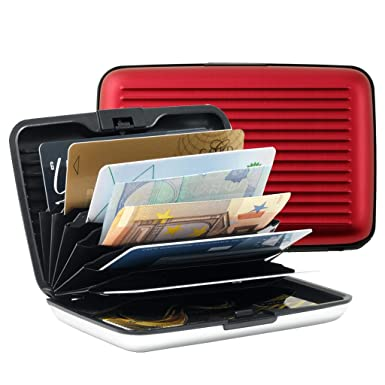 reputable site 0bd39 2b158 Aluminum card holder