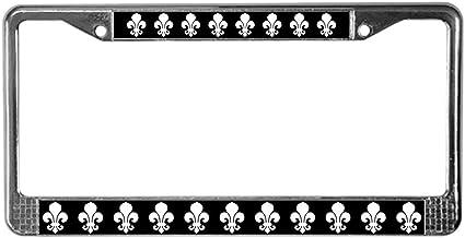 Fhdang Decor Fleur-De-lis_Bl.PNG Marco para Placa de ...