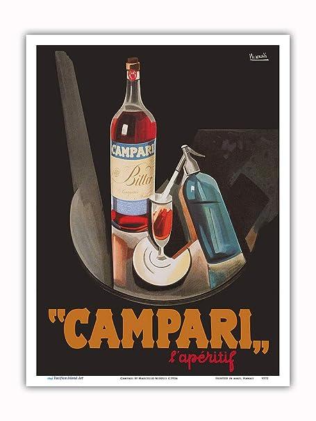 Pacifica Island Art Cordial Campari-francés del Licor ...