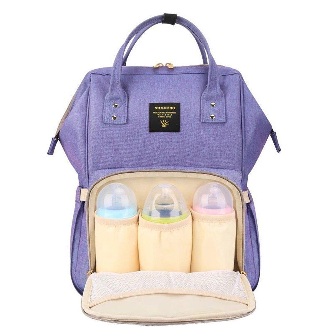 BigForest SUNVENO Maternity Multifunction Mummy Wickelrucksack Travel Tote Bag Handtaschen baby Wickeltasche Diaper Nappy Changing Bag