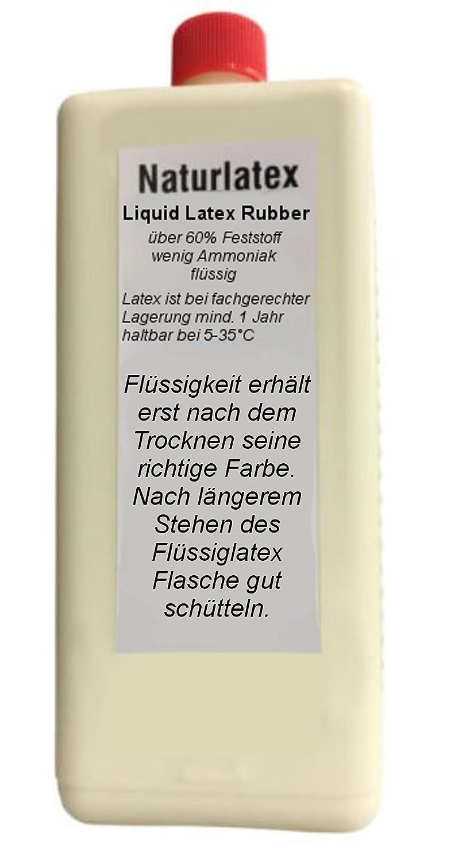 Flü ssiglatex NATUR 1 Liter Maskenbildner Schlem GmbH