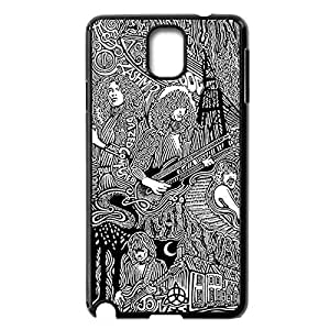 DIY Hard Back Case Skin with Led Zeppelin for Samsung Galaxy Note 3 III N9000 -Black030902