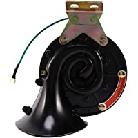 Voupuoda 12V 125dB Trumpet Air Horn Compressor Kit for Train Car Truck Van Boat