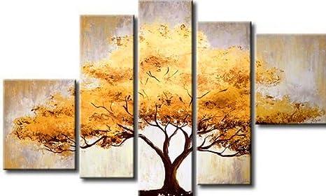 Amazon.com: ode-rin pintado a mano pinturas al óleo elegante ...