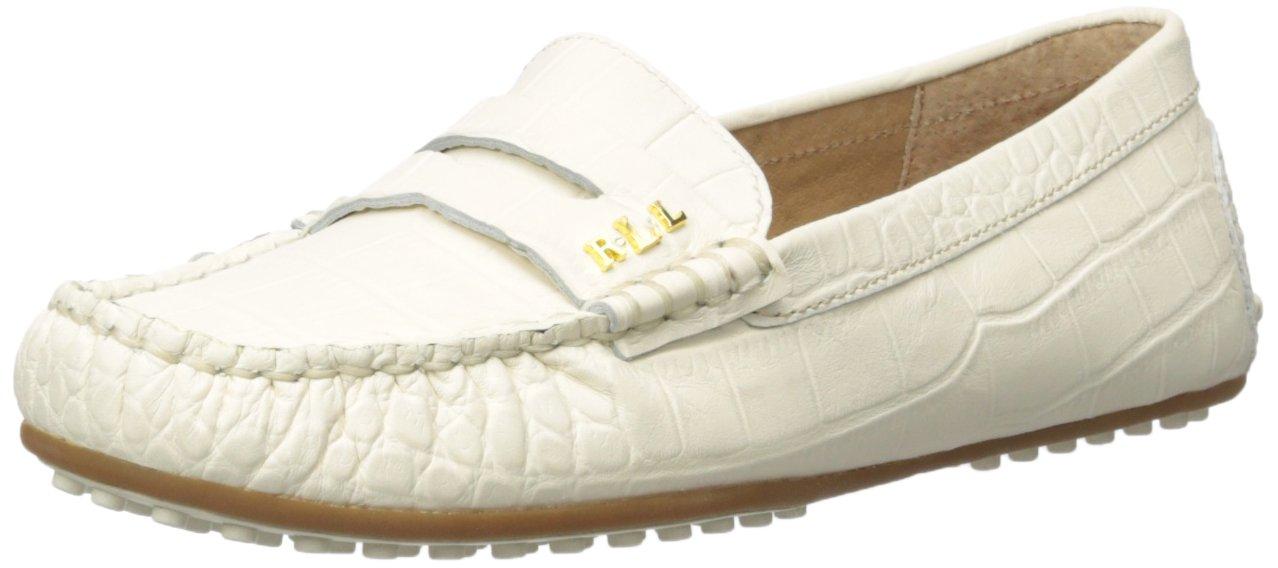 Lauren by Ralph Lauren Women's Belen Driving Style Loafer B01M147MW5 10 B(M) US Eggshell