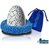 """Black & White Label Company - Nest for Hatchimals Wow & Hatching Dragons - Egghead Bed Nesting 6.5"""" Fleece Egg Accessory Hold"""