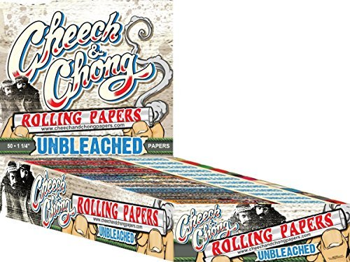 1-Pack-Cheech-and-Chong-1-14-Unbleached-Cigarette-Rolling-Papers-50-Rolling-Papers-Per-Pack-Limited-Edition-Beamer-Smoke-Sticker-Used-with-Legal-Smoking-Herbs-Rolling-Tobacco-Herbal-Mixes