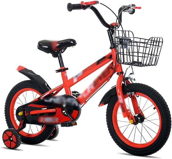 Brilliant firm Bicicletas Bicicletas para Niños para Niños y Niñas 12/14/16 Pulgadas Bicicleta Cochecito de Montaña 2-10 Años de Edad (Color : Red, Size : 14 Inches): Amazon.es: Hogar