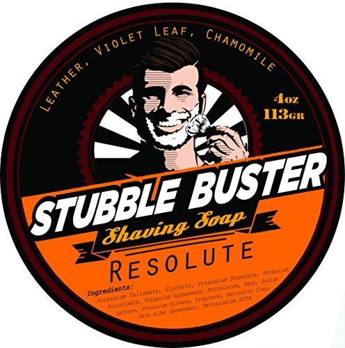 Stubble Buster - Resolute - Handmade Shaving Soap