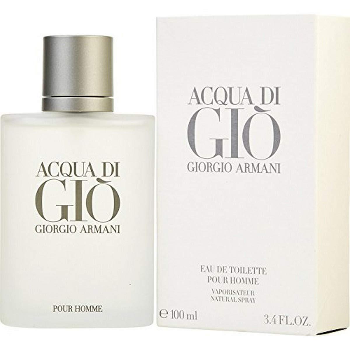 Acqua Di Gio 3.4 Fl. Oz. Eau De Toilette Spray Men by Giorgio Armani
