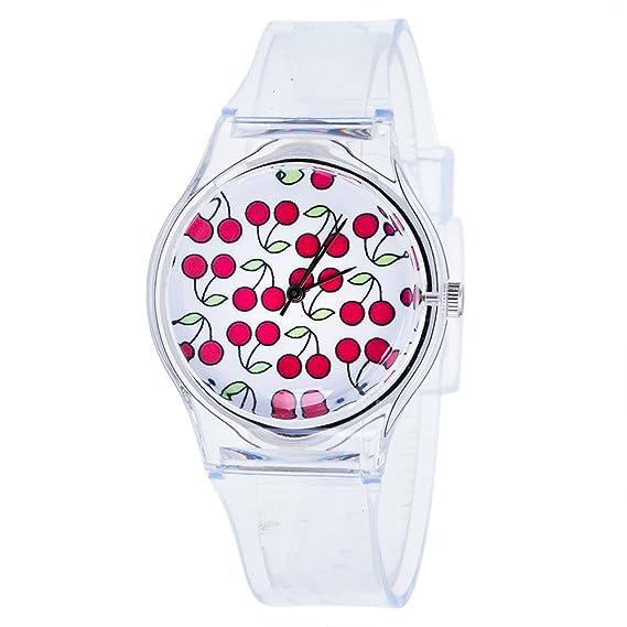 JiaMeng Reloj Analógico Automático para niño con Correa de Acero Inoxidable Relojes (A)